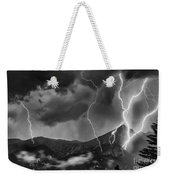 Alpine Lightning Weekender Tote Bag