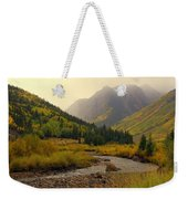 Alpine Loop Fall Weekender Tote Bag