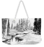 Alpine Meadow Weekender Tote Bag