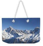 Alpine Panorama Weekender Tote Bag