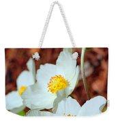 Alpine Pasqueflower Weekender Tote Bag