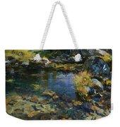 Alpine Pool Weekender Tote Bag