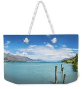 Alpine Scenery Panorama At Kinloch, New Zealand Weekender Tote Bag