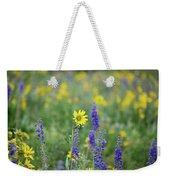 Alpine Sunflower Weekender Tote Bag