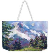 Alpine View Weekender Tote Bag