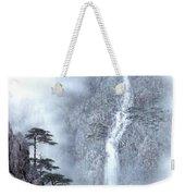 Alpine Waterfall Weekender Tote Bag