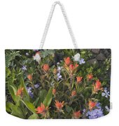 Alpine Wildflowers Hurricane Ridge 4031 Weekender Tote Bag