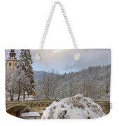 Alpine Winter Beauty Weekender Tote Bag