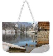 Alpine Winter Clarity Weekender Tote Bag