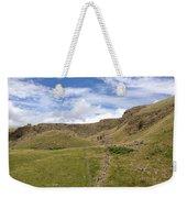 Alport Castles, Derbyshire, England Weekender Tote Bag