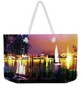Alster In The Evening Weekender Tote Bag