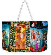 Altar Painted By Famous John Walach Weekender Tote Bag