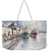 Altea Harbour On The Costa Blanca 01 Weekender Tote Bag