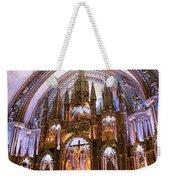 Alter Inside Basilica Of Notre Dame, Montreal, Quebec, Canada. Weekender Tote Bag