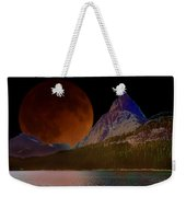 Alternate Universe Glacier Park Weekender Tote Bag