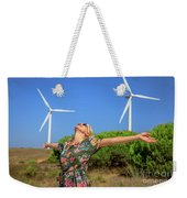 Alternative Energy Concept Weekender Tote Bag