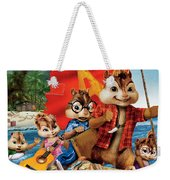 Alvin And The Chipmunks Chipwrecked Weekender Tote Bag
