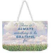 Always Grateful Weekender Tote Bag
