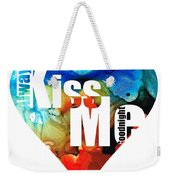 Always Kiss Me Goodnight 6 - Valentine's Day Weekender Tote Bag