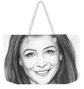 Alyson Hannigan Weekender Tote Bag