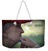 Alzheimer's The Aging Of A Lady Weekender Tote Bag
