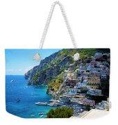 Amalfi Coast, Positano, Italy Weekender Tote Bag
