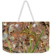 Amanda's Pennant Dragonfly Female Weekender Tote Bag