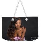 Amani African American Nude Sensual Sexy Fine Art Print 4961.02 Weekender Tote Bag