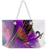 Amaryllis Butterfly II Weekender Tote Bag