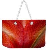 Amaryllis Flower Petals Weekender Tote Bag