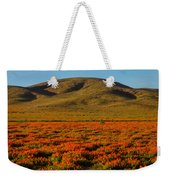 Amazing Poppy Fields Weekender Tote Bag