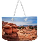Amazing Rock Formations At Kodachrome Basin State Park, Usa. Weekender Tote Bag