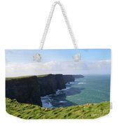 Amazing Scenic Views Of The Cliff's Of Moher Weekender Tote Bag