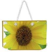 Unique Sunflower Weekender Tote Bag
