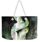 Amazing Vancouver Island Series - Sombrio Cave Waterfall  Inside  Closeup 2. Weekender Tote Bag