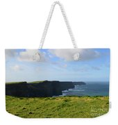 Amazing Views Of The Cliff's Of Moher In Ireland Weekender Tote Bag