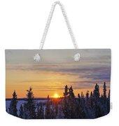 Amazing Winter Sunrise Weekender Tote Bag