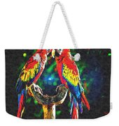 Amazon Parrotts Weekender Tote Bag