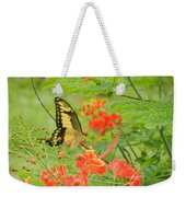 Amazonia Butterfly Weekender Tote Bag