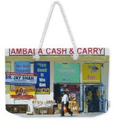 Ambala Cash And Carry Weekender Tote Bag