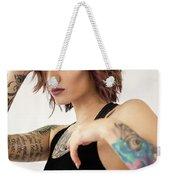 Amber 13 Weekender Tote Bag