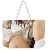 Amber 22 Weekender Tote Bag