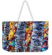 Amber Forest Weekender Tote Bag
