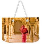 Amber Fort Temple Weekender Tote Bag