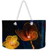 Amber Light Weekender Tote Bag