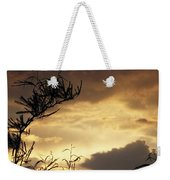 Amber Sky Weekender Tote Bag