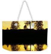 Amber Sunset Weekender Tote Bag
