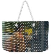 Ambiguity - Stainless Steel Woman Reflection Weekender Tote Bag