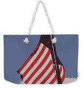 Amercan Flag Weekender Tote Bag