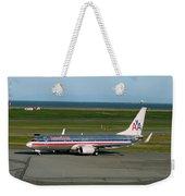 American Airlines 737-800 Weekender Tote Bag